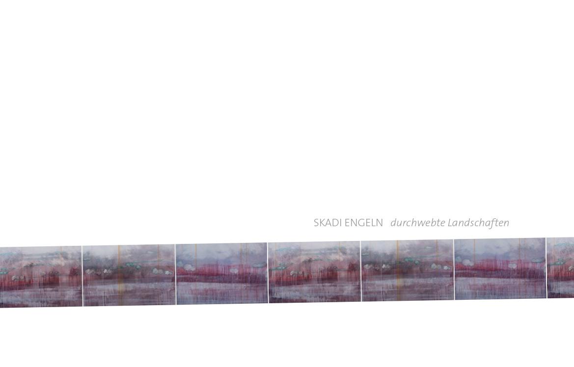 Katalog: durchwebte Landschaften 2014